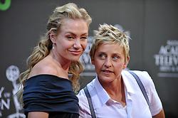 Portia de Rossi and Ellen DeGeneres attend the 36th Annual Daytime Emmy Awards held at the Orpheum Theatre. Los Angeles, August 30, 2009. Photo by Lionel Hahn/ABACAPRESS.COM (Pictured: Portia de Rossi, Ellen DeGeneres)  | 200137_039