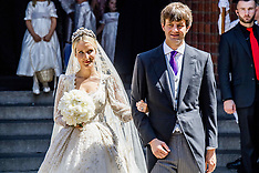 Hanover: Wedding Ceremony of Prince Ernst-August Jr. of Hanover - 8 July 2017