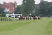 Horse Racing: Germany, Sparda-Derby-Week, Hamburg, 03.07.2013<br /> Illustration<br /> © Torsten Helmke