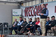 Jonathan Forbes of Kepak speaking at 'SHEEP2015', the major National Sheep Open Day hosted by Teagasc at Athenry on Saturday. Photo:- Andrew Downes / xposure.ie  No Fee. Issued on behalf of Teagas
