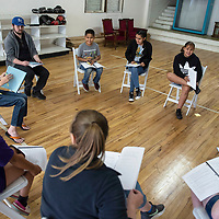 """Gallup Repertory Theater's Children's Theater Camp rehearsal, Thursday, June 6. The Children's Theater Camp will perform William Shakespeare's """"Taming of the Shrew"""" June 21 and 22."""