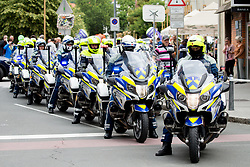 Motorbikes prior to 2nd Stage of 25th Tour de Slovenie 2018 cycling race between Maribor and Rogaska Slatina (152,7 km), on June 14, 2018 in  Slovenia. Photo by Vid Ponikvar / Sportida