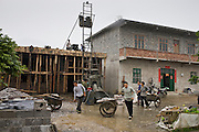 Building site near Fuli, China