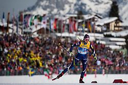 February 21, 2019 - Seefeld In Tirol, AUSTRIA - 190221 Laura Mononen of Finland competes in women's cross-country skiing sprint qualification during the FIS Nordic World Ski Championships on February 21, 2019 in Seefeld in Tirol..Photo: Joel Marklund / BILDBYRN / kod JM / 87879 (Credit Image: © Joel Marklund/Bildbyran via ZUMA Press)