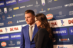 December 3, 2018 - Milan, Italy - Ciro Immobile guest of ''Gran Gal del Calcio'', gala reserve for the awards of the best players of the 2017/2018 season of the italian Serie A Tim, witch is held in Megawatt Court in Milan, Italy. (Credit Image: © Andrea Diodato/NurPhoto via ZUMA Press)