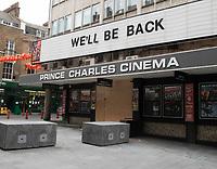 Prince Charles Cinima  closed  leicester Sq London photo by Brian Jordan
