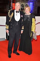 © Licensed to London News Pictures. 14/12/2016. ADMIRAL LORD WEST attends The Sun newspaper Millies Military Awards 2016 at Guildhall, London, UK. Photo credit: Ray Tang/LNP