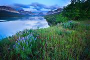 Lake Sherburne, Glacier National Park.