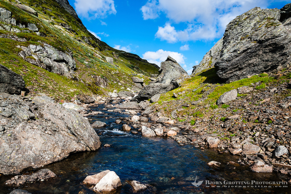 Norway, Suldal. Stranddalen.