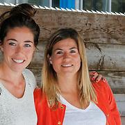 NLD/Amsterdam/20120713 - Lancering Sportglossy Londen, Naomie van As en Kim Lammers