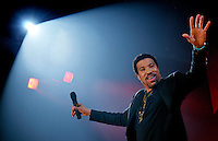 Lionel Richie in concert at the MEN Arena, Manchester. Comission for the Press Association.