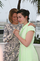 Actress Léa Seydoux and Director Rebecca Zlotowski at the Grand Central film photocall at the Cannes Film Festival 18th May 2013