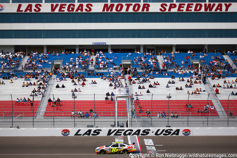 Qualifying for the Shelby 427, 2009 NASCAR race at the Las Vegas Motor Speedway, Las Vegas, Nevada.