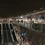 Singapore Subway Escalators