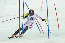 24.01.2012, Planai, Schladming, AUT, FIS Weltcup Ski Alpin, Herren, Slalom 1. Durchgang, im Bild Mario Matt (AUT) // Mario Matt of Austria during the first run of the FIS Alpine Skiing World Cup mens slalom race, Schladming, Austria on 2012/01/24. EXPA Pictures © 2012, PhotoCredit: EXPA/ Sandro Zangrando