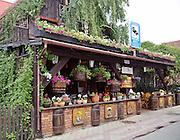 Kawiarnia, ulica Wiejska, Hel <br /> The cafe, the Wiejska street, Hel