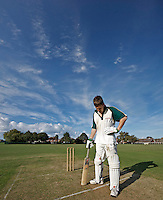Cricket - Portrait of  batsman