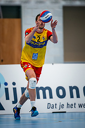 Jeroen Rauwerink of Dynamo in action during the first league match in the corona lockdown between Sliedrecht Sport vs. Draisma Dynamo on January 09, 2021 in Sliedrecht.