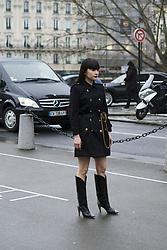 March 4, 2018 - Paris, France - Kozue Akimoto attends The Givenchy Show During Paris Fashion Week on March 4, 2018 in Paris, France. (Credit Image: © Nataliya Petrova/NurPhoto via ZUMA Press)