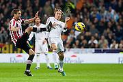 Luka Modric got kicked by opponent
