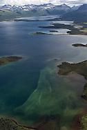 Blue Lake in the Katmai National Preserve