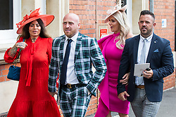 Ascot, UK. 20 June, 2019. Racegoers attend Ladies Day at Royal Ascot.