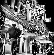 Barbary Coast, 1950s, San Francisco,