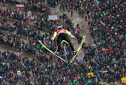 Michael Hayboeck (AUT) during Ski Flying Hill Men's Team Competition at Day 3 of FIS Ski Jumping World Cup Final 2017, on March 25, 2017 in Planica, Slovenia. Photo by Vid Ponikvar / Sportida
