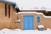 Adobe Home in Winter