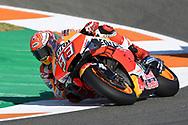 #93 Marc Marquez, Spanish: Repsol Honda Team during the Gran Premio Motul de la Comunitat Valenciana at Circuito Ricardo Tormo Cheste, Valencia, Spain on 15 November 2019.