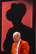 Shadow by John Stezaker at the Galerie Capitaine - Frieze London 2014, Regents Park, London, 14 Oct 2014.