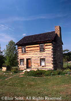 Southwest PA Somerset Historical Center, Frontier Early American Log House, Somerset Co.