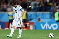 Lionel MESSI Argentina Dejection Delusione <br /> Nizhny Novgorod 21-06-2018 Football FIFA World Cup Russia  2018 <br /> Argentina - Croatia / Argentina - Croazia <br /> Foto Matteo Ciambelli/Insidefoto