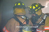63818-02504 Firefighters at structure fire, Effingham Co., IL