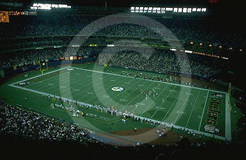 Pittsburgh, PA, Historic Photo, Pittsburgh Steelers, Three Rivers Stadium