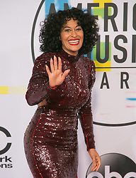 November 19, 2017 - Los Angeles, California, U.S - Tracee Ellis Ros on the Red Carpet of the 2017 American Music Awards held on Sunday, November 19, 2017 at the Microsoft Theatre in Los Angeles, California. (Credit Image: © Prensa Internacional via ZUMA Wire)