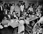 Y-480530-18.  Survivors in a refugee center. May 30, 1948