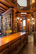 The library of the Brooklyn Historical Society.