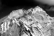 Der Piz Cacciabella in den Bergeller Alpen nach einem heftigen Schneefall, Bergell, Graubünden, Schweiz<br /> <br /> The Piz Cacciabella in the Bregaglia Alps after a heavy snowfall, Val Bregaglia, Grisons, Switzerland