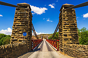 The Daniel O'Connell Bridge,  Ophir, Central Otago, South Island, New Zealand