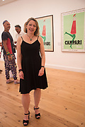 ROBERTA CREMONCINI, Private view for the Art of Campari, The Estorick Collection,  Islington. London. 3 July 2018