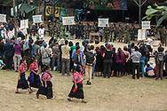 Spettacolo teatrale zapatista, festival CompArte.