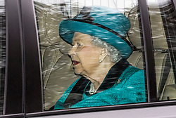 © Licensed to London News Pictures. 26/11/2019. Windsor, UK. HRH QUEEN ELIZABETH II is seen leaving Buckingham Palace in London. A number of financial backers for the Duke of Yorks's charities and businesses withdrew their support following reaction to an interview on Prince Andrew's relationship with American financier Jeffrey Epstein. Photo credit: Ben Cawthra/LNP