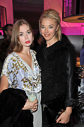 Left to right, ANOUSKA GERHAUSER and her mother TAMARA BECKWITH at the launch of Project PEP to benefit the Elton John Aids Foundation hosted by Tamara Mellon and Diana Jenkins in association with Jimmy Choo held at Selfridges, Oxford Street, London on 29th October 2009.