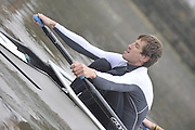 London, Great Britain, TSS. Men's H/W Quad, Iztok COP. training on the River Thames Chiswick to Putney.  [Mandatory Credit. Peter Spurrier/Intersport Images]