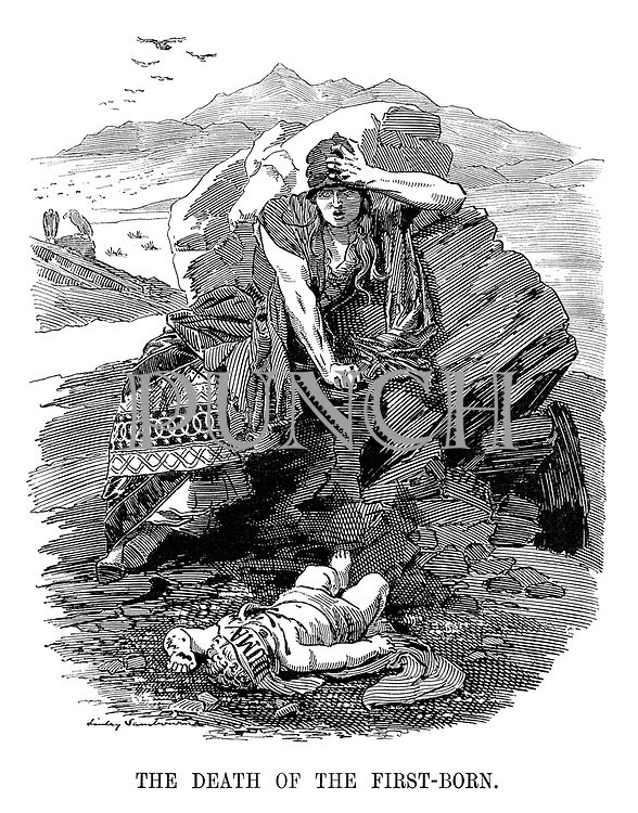 The Death of the First-Born.