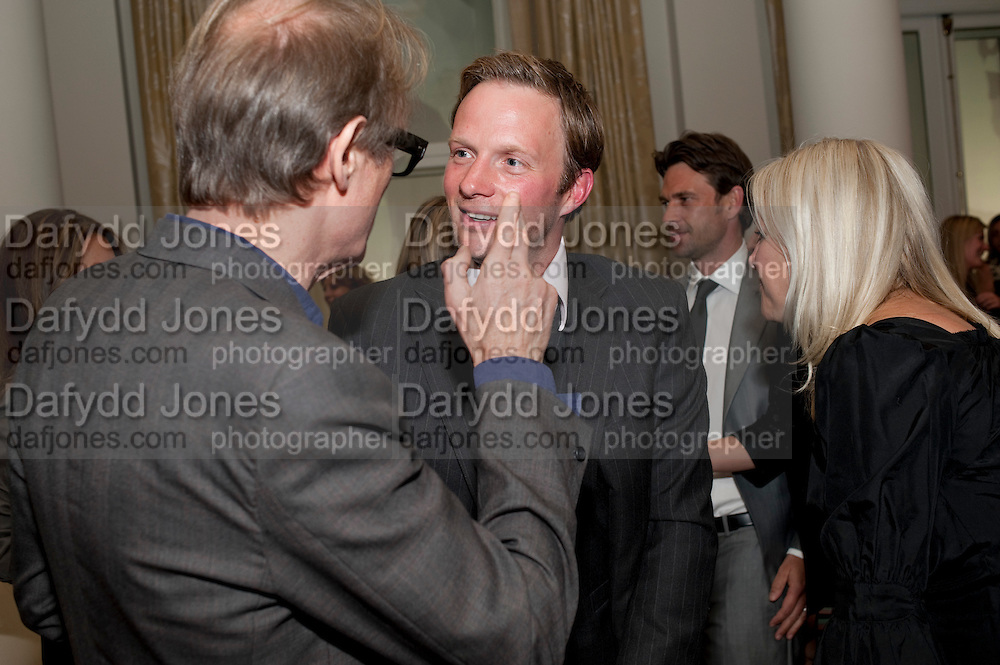 BILL NIGHY; RUPERT PENRY-JONES, Langham Hotel party after a major renovation. Portland Place, London. 10 June 2009