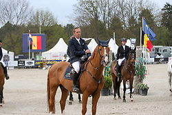 Hemeryck Rik, BEL, Carlitto Van T Zorgvliet<br /> CSI 2* Grand Prix<br /> Z Tour - Lanaken 2017<br /> © Hippo Foto - Julien Counet<br /> 21/04/12