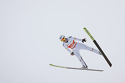 24.02.2021, Oberstdorf, GER, FIS Weltmeisterschaften Ski Nordisch, Oberstdorf 2021, Herren, Nordische Kombination, Skisprung, Training, im Bild Mario Seidl (AUT) // Mario Seidl (AUT) during a training session for the ski Jumping competition of men Nordic combined Competition of FIS Nordic Ski World Championships 2021. in Oberstdorf, Germany on 2021/02/24. EXPA Pictures © 2021, PhotoCredit: EXPA/ JFK
