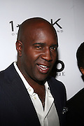 """Len Barnett at the cocktail party celebrating Sean """"Diddy"""" Combs appearance on the """" Black on Black """" cover of L'Uomo Vogue's October Music Issue"""